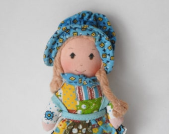 Vintage Holly Hobby Cloth Doll