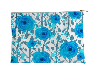 Pouch, Floral by Elderbrook Studio