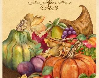 Wilmington Prints - Thankful Harvest Panel