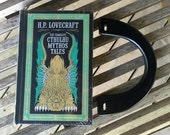 H.P. Lovecraft - The Complete Cthulhu Mythos Tales - Leather bound Book Purse - Made to Order
