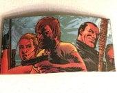 Upcycled - The Walking Dead - Hair Clip - Barrette - Comic Con - Fashion - Laminated - Fan - Rick - Negan - Andrea