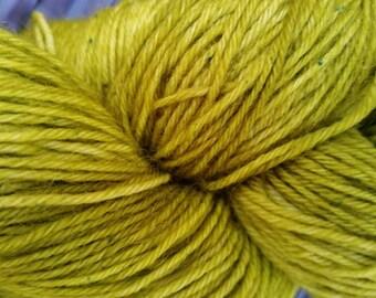 Mossheart: 100g hand painted merino/nylon sock yarn