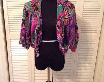 Vintange color blouse