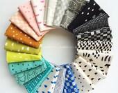 Printshop Fat Quarter Bundle by Alexia Abegg for Cotton and Steel Fabrics, COMPLETE