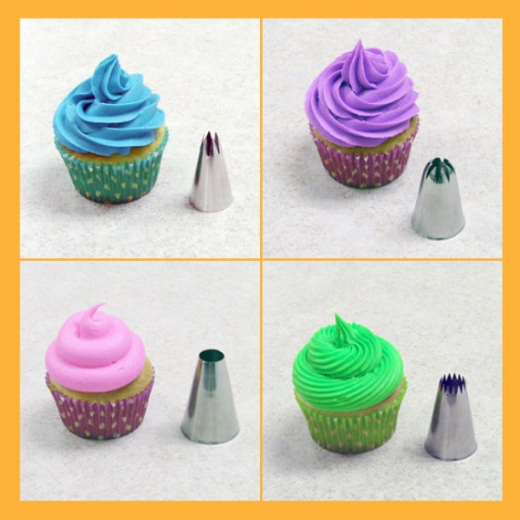 JUMBO ROUND Pastry Tip - Extra Large Plain Icing Tip, #9 ...