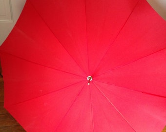 Vintage Red Parasol Umbrella