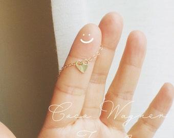 Heart Choker Necklace, Link Heart Necklace, Tiny Heart Necklace,  Heart Necklace, Minimalist Jewelry, Everyday Wear, Celebrity Inspiration