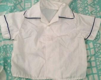 Vintage Blouse dress shirt 6-12 months