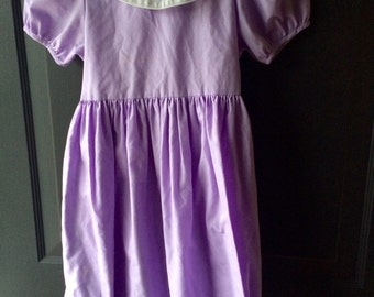 Vintage lavender Party Dress 5t