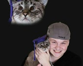 Cat Graduation Cap, Cat Hat, Pet Hat, Dog Hat, Felt Dog Hat, Cat Felt Hat, Cat Hat
