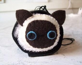 Siamese Cat Maki Roll Ornament