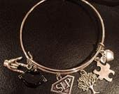 SUPER Speech Language Pathologist  SLP charm bracelet