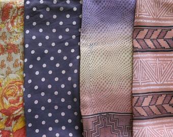 Fat Quarters, Silk Fabric, Sari Silk FQ148