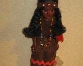 Cherokee hand made doll