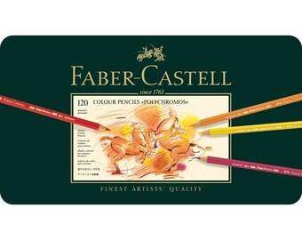 Faber-Castell Polychromos 120 Set of Colored Pencils
