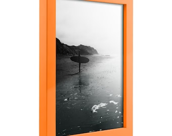 Confetti, Modern Orange Solid Wood Picture Frame(1406490507)