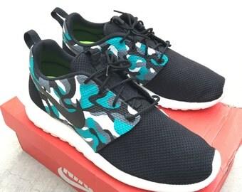 Camo Nike Roshe One - Men's & Women's Nike Running Shoes