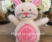 ITH Bunny Stuffie Embroidery File