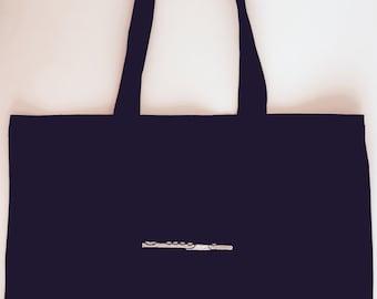 Flute Gift - Flute Totebag - Music bsg