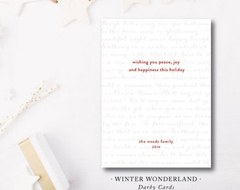 Winter Wonderland Holiday Cards