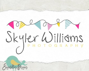 Photography Logos and Business Logos Flag Banner Watermark 60