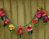 pattern for summer flower garland