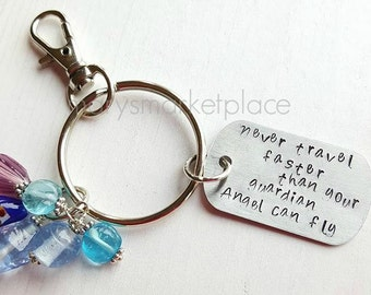 Never Travel Faster Than You Guardian Angel Can Fly  - New Driver Good Reminder Gift