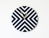 Sale, Mod  Wall Clock. Trending Decor, Black and White Clock, Decor and Housewares, Home Decor, Home and Living