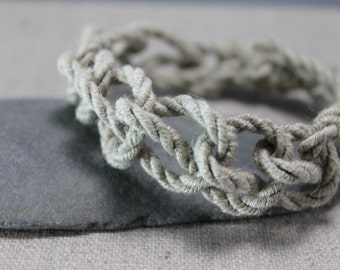 Rustic Rope bracelet, teen boys, unisex, minimalist, fiber, christmas gifts, to him