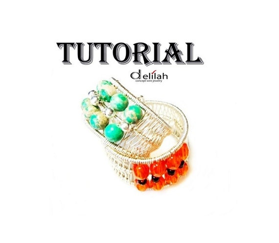 Adjustable Ring Tutorial Wire Wrapped Jewelry Tutorial Wire Wrap Jewelry Ring Tutorial Wirework Ring Tutorial Jewelry Making Ring Tutorial