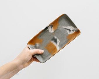 Concrete Oblong Plate