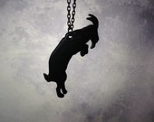 Bounding Mountain Goat Necklace