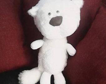 handmade doll cat