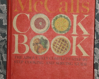 McCall's Cookbook Vintage 1963 Hardcover Book