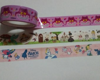 Disney Alice in Wonderland Washi Samples