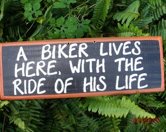 A Biker Lives Here With The Ride Of His Life