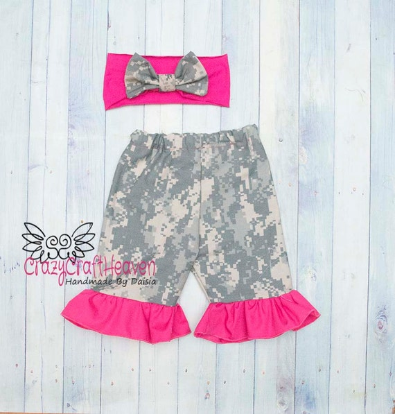 Baby Girl Military Outfit Baby Army Clothes by