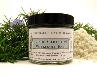 LaFae Gourmet Rosemary Finishing Salt