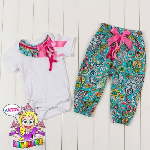 Baby girls paisley outfit shabby chic outfit by akidsdreamboutique - Shabby chic outfit ideas ...