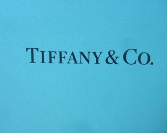 TIFFANY & Co. Silver Metal Picture Frame in Tiffany Box