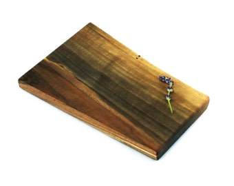 """Small Wine and Cheese Board - Walnut - Ready to Ship - 9-1/2"""" x 6"""" x 5/8"""""""