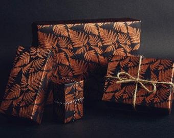 Fern Print Gift Wrap