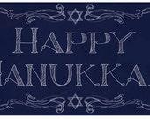 Happy Hanukkah Holiday decor
