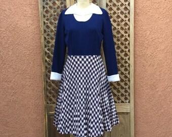 1970's Polyester Dress