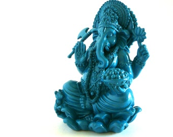 ganesh statues, spiritual, alter, modern asian, azure decor, ganesha sculpture
