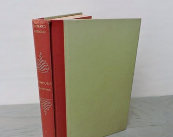 Vintage History Book - Armour's Almanac. Around the Year in 365 Days - First Edition - 1962 - World History