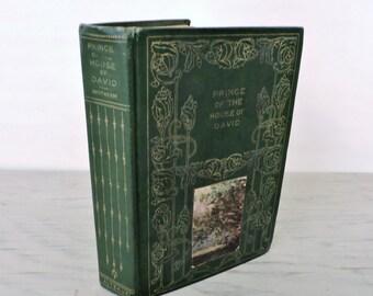 Antique Religious Novel - The Prince Of The House Of David - Circa 1900 - Historical Fiction