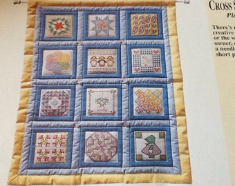 DOLL QUILT - Cross Stitch Pattern Only