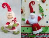 036 Santa Claus, Father Frost, Father Christmas Crochet Pattern. Amigurumi PDF by Borisenko Etsy