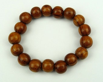 Bayong 12mm Wood Bead Bracelet